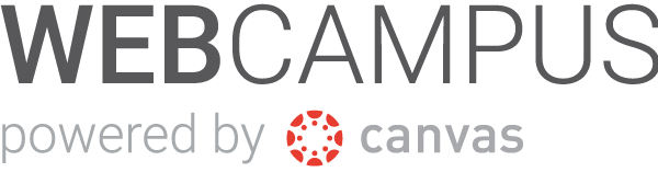 Webcampus powered by Canvas